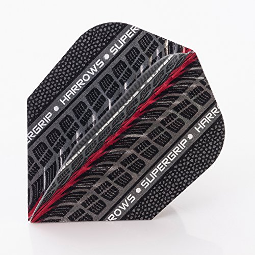 5 x SETS HARROWS SUPERGRIP ROT DART FLIGHTS STANDARD