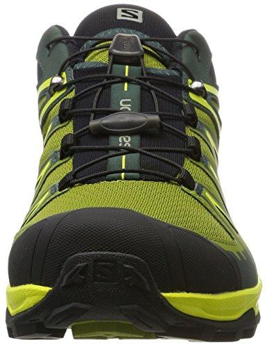 Salomon X Ultra 3, Chaussures dEscalade Homme Multicolore - vert (Darkest Spruce/Guacamole/Sulphur Sp)