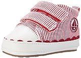 Sterntaler Baby-Schuh, Baby Mädchen Sneaker, Rot (Beerenrot), 17/18 EU