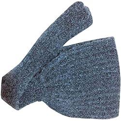 Warme Ohrenschützer/Mütze, Wollstrickohrwärmer, Outdoor-Ausrüstung, für Damen/Kinder, B2