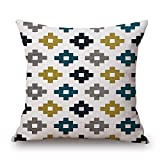 Artistdecor Geometric Throw Pillow Case 18 X 18 Inches / 45 By 45 Cm Best Choice For Shop,son,home Theater,teens Girls,c