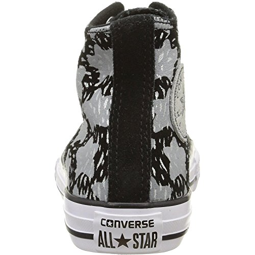 Converse  Ct Bb Animal Hi,  Unisex Kinder Sneakers Black Print