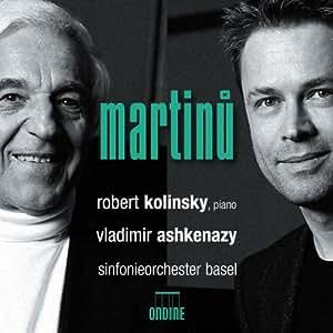 Martinu: Klavierkonzerte Nr.2 & 4/Ouvertüre/Les Fresques