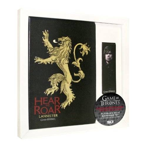 SD toys Game Of Thrones, Lannister, set libreta y punto de libro (SDTH