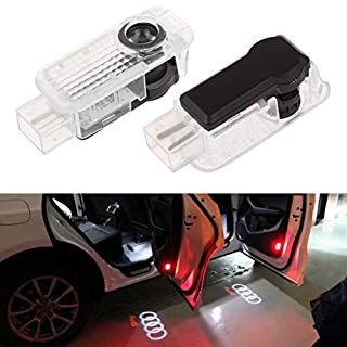 Inlink 2 pieces Car Door Lights LED 3D Car Ghost Shadow Light Entry Lighting Welcome Projector Lamp Logo Light