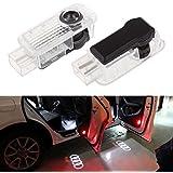 Inlink 2 Iluminación Luz Puerta Del Coche Iluminación Entrada LED De Luz Láser De Puerta Para Audi A1 A4 A5 A6 A7 A8 Q3 Q5 Q7 R8 TT