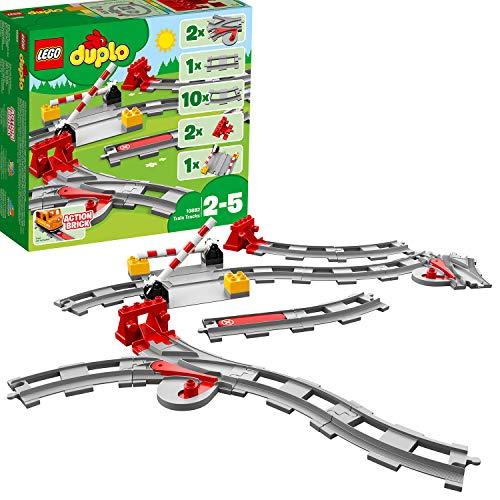 LEGO DUPLO Town - Vías ferroviarias 10882 Juego bebes