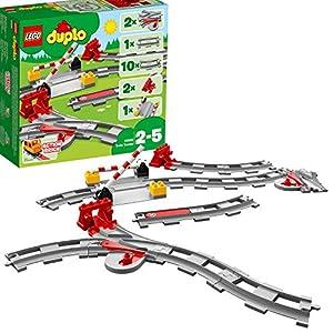 LEGO DUPLO Town - Vías ferroviarias (10882) Juego para bebes