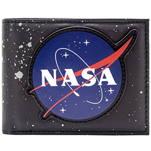 NASA For the Benefit of All Schwarz Portemonnaie Geldbörse
