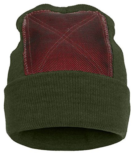BACKSPIN FUNCTION WEAR 'Beanie' Headspin-Cap - olive - OneSize