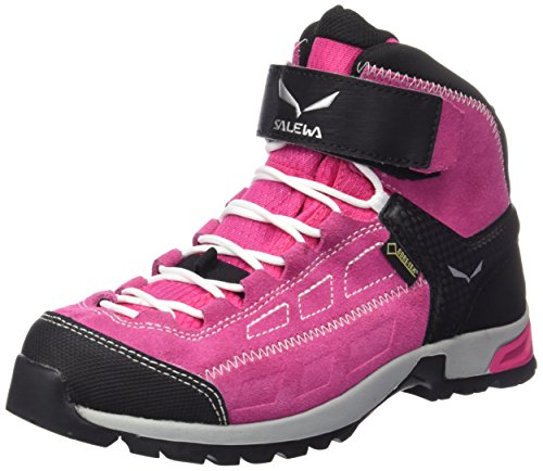 Salewa Unisex-Kinder JR ALP Player MID GTX Trekking-& Wanderstiefel, Pink (Pinky/White 6120), 38 EU