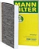 Mann Filter CUK3337 Filter, Innenraumluft adsotop