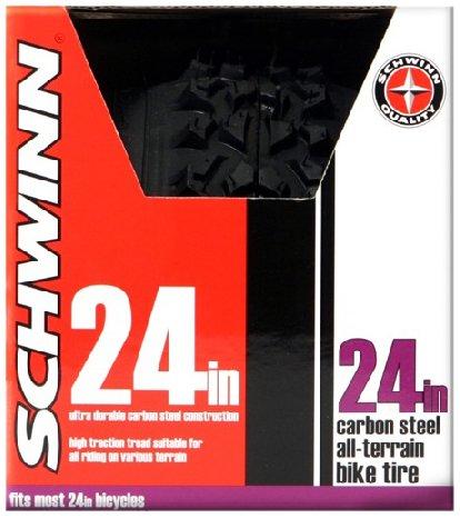 Schwinn Big Knobby Bike Tire (schwarz, 24x 1,95Zoll (5cm)) - Big Tire Bike
