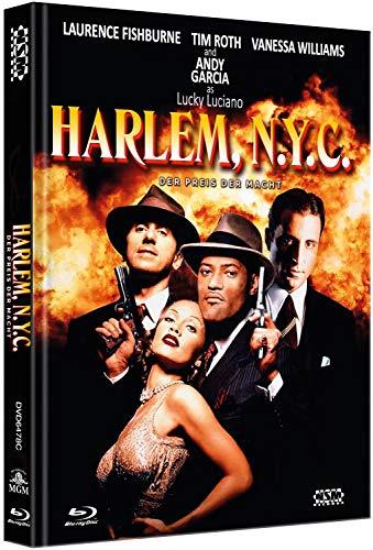 Harlem, N.Y.C. - Der Preis der Macht - Hoodlum [Blu-Ray+DVD] - uncut - auf 222 limitiertes Mediabook Cover C [Limited Collector's Edition] [Limited Edition]