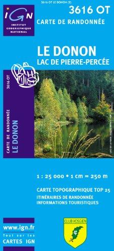 Le Donon/Lac De Pierre-Percee: Ign.3616ot