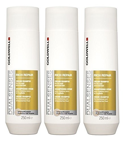 Goldwell Dualsenses Rich Repair Crema Shampoo set 3 x 250 ml