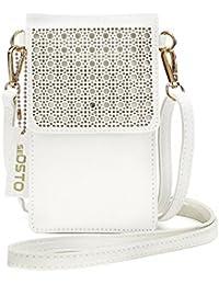 262082bae3bca Suchergebnis auf Amazon.de für  handy - Weiß   Handtaschen  Schuhe ...