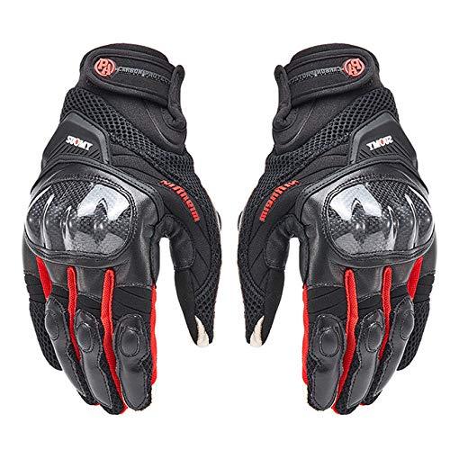 MYSdd Guanti da moto guanti da moto invernali antivento impermeabili da uomo guanti da guida per moto touch screen XXL