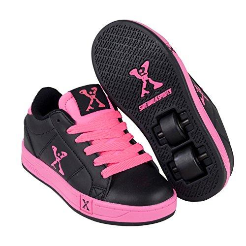 Sidewalk Sport Kinder Lane Mädchen Wheeled Skate Rollschuhe Schwarz/pink 7
