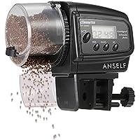 Andoer DOSATORE CIBO PESCE regola Timer LCD Acquario Automatic Fish cibo Tank alimentatore automatico feeder
