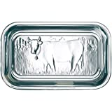 Arcoroc Butterdose Kuh 17cm mit Deckel, 1 Stück