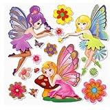Sticker Elfes Enfant Cuisine Maison