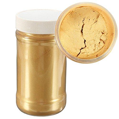 EsportsMJJ 100G Goldglitter Ultrafeine Perle Pigment Pulver Metall Funkeln Schimmer Farbe