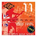 Rotosound Nickel Medium Gauge Electric Guitar Strings (11 14 18 28 38 48)