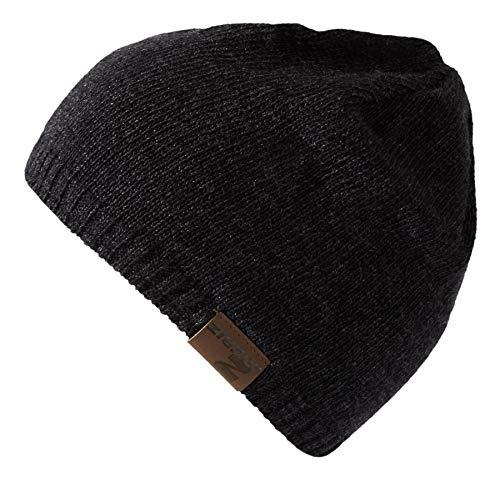 Ziener Erwachsene ILTENBERG hat Mütze/warm, gestrickt, , schwarz (black), Einheitsgröße