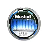 #9: Mustad Thor Monofilament Fishing Line - Sea Blue Mono Line 0.30mm