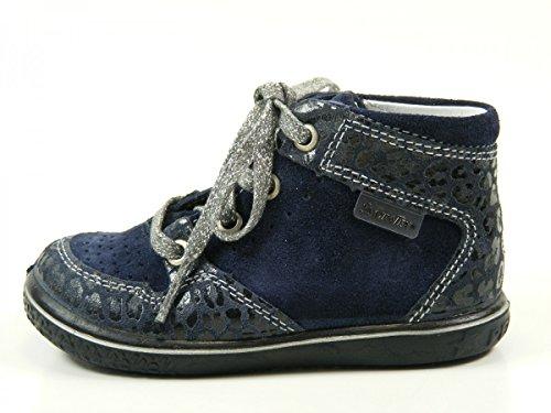Ricosta Allanis Mädchen Hohe Sneakers Blau