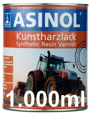 Preisvergleich Produktbild ASINOL RAL 7030 steingrau hochglänzend 1 Liter, 1.000ml Kunstharzlack