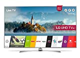 LG 49UJ701V 49 Inch SMART 4K Ultra HD HDR LED TV Freeview Play USB Recording, (Certified Refurbished)