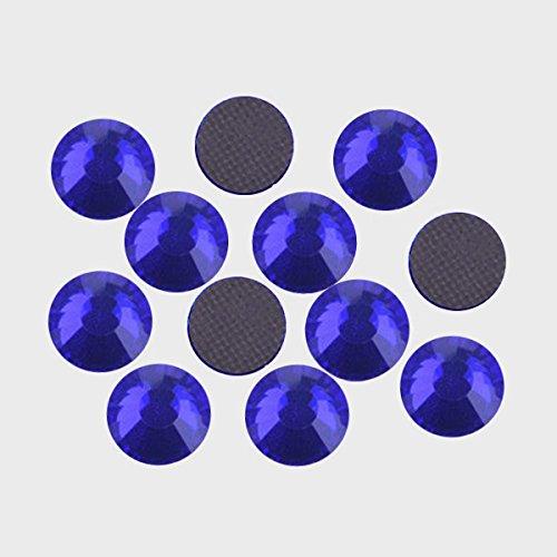 MajorCrafts® SS30 - Decorazioni pietre brillanti, 280 pezzi, 6mm,rotondi  Cobalt Blue (Cobalt Gem)