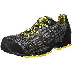 Diadora Beat Textile Low S1p Hro, Zapatos de Trabajo Unisex Adulto, Negro (Nero), 43