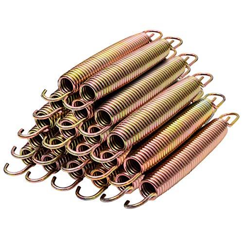 10 Stück Tramolin Ersatzteil Trampolin Federn Stahlfeder verzinkt 178 mm Ersatzfeder(10 Stücke 178 mm Ersatzfeder)