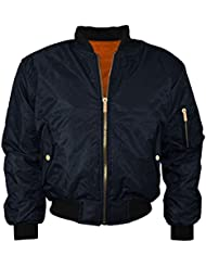 New Mens Biker Coat Milter Military MA1 Bomber Casual Harrington Winter Jacket