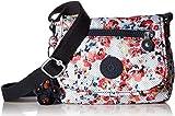 Kipling Damen Printed Crossbody Minibag, Sabian Mini-Umhängetasche, Bedruckt, Blumenmuster (Busy Blossoms), Einheitsgröße