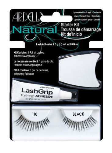 Ardell Lash Applikator (Ardell Fashion Lash Starter Kit 116, das Original, black, 1er Pack)