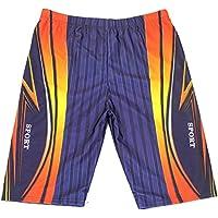TT Traje de baño de secado rápido de gran tamaño de la moda de los hombres traje de baño,Deporte azul ma,XXL