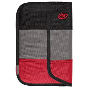 Timbuk2 Ballistic Envelope Sleeve for Kindle Fire HD with 360 degree protection (2nd Generation - 2012 release), Black/Grey/Red
