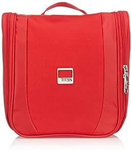 Titan  Toiletry Bag, Red