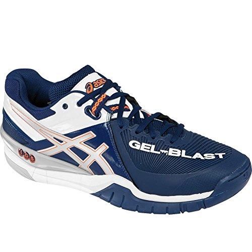 ASICS e413y hommes de GEL-BLAST 6Chaussures de handball - Navy/Lightning/White