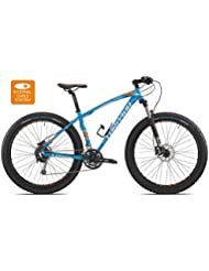 "Torpado bicicleta MTB jupiter 27,5"" plus alu 3 x 10 V disco talla 48) color azul (MTB diferidos/bicycle MTB jupiter 27,5"" plus alu 3 x 10 s disc size 48 light blue (MTB Front suspension)"