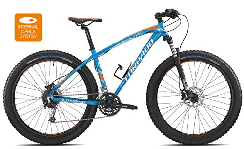 TORPADO BICICLETA MTB JUPITER 27 5 PLUS ALU 3 X 10 V DISCO TALLA 48) COLOR AZUL (MTB DIFERIDOS/BICYCLE MTB JUPITER 27 5 PLUS ALU 3 X 10 S DISC SIZE 48 LIGHT BLUE (MTB FRONT SUSPENSION)