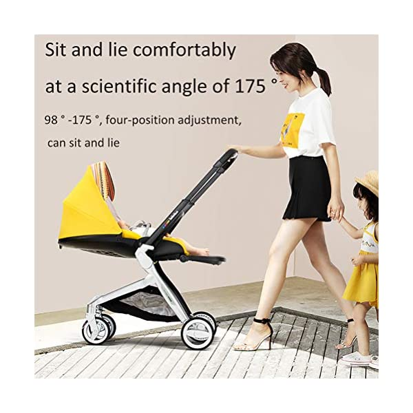 ZZLYY Lightweight Baby Stroller for Toddler Travel, Infant Convenience Stroller,Portable Airplane Travel Carry On Strollers,Folding Umbrella Pram,Blue ZZLYY S 7