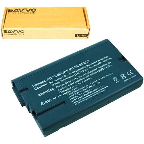 Bavvo Batería de Ordenador 8-células compatible con SONY VAIO PCG-GRS70/P PCG-GRS72V/P PCG-GRS900 PCG-GRS900/P PCG-GR Series