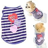 Culater® Mascotas ropa para perros gato Primavera Verano Pequeño Ropa Chaleco (12)