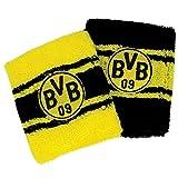 BVB Herren Schweißband Set 2 Stück, gelb/schwarz, One Size, 2466153
