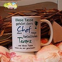 Kaffeebecher ~ Tasse - Diese Tasse gehört dem Chef ~ Arbeit Job~ Weihnachten Geschenk